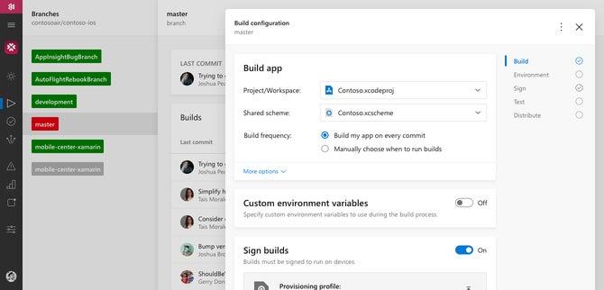 App Center · GitHub Marketplace · GitHub