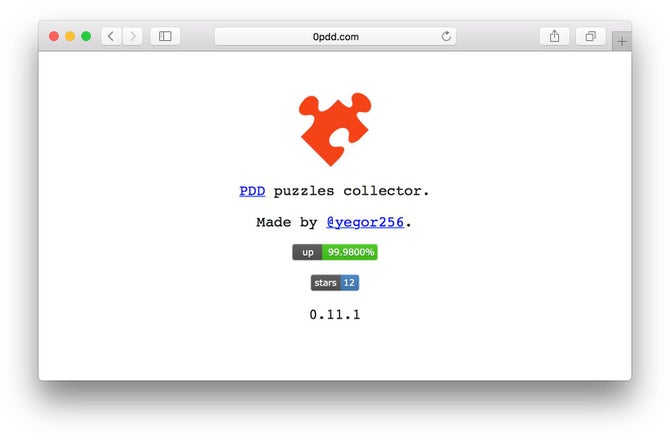 0pdd com · GitHub Marketplace · GitHub