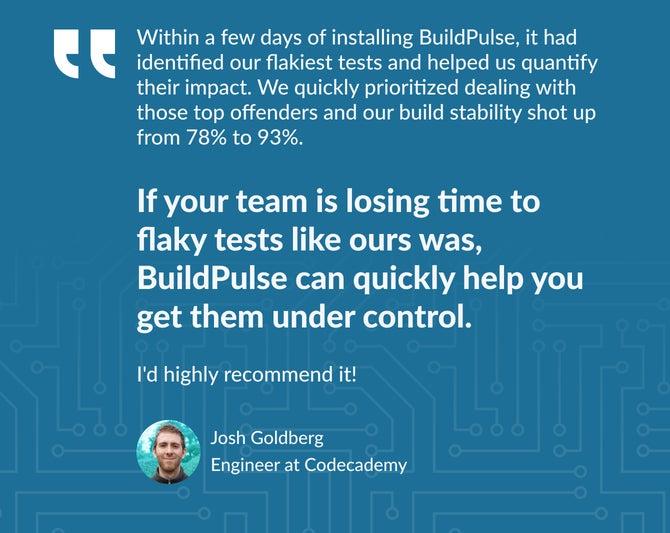 BuildPulse screenshot